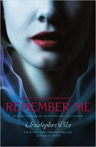 Christopher Pike Books Remember Me