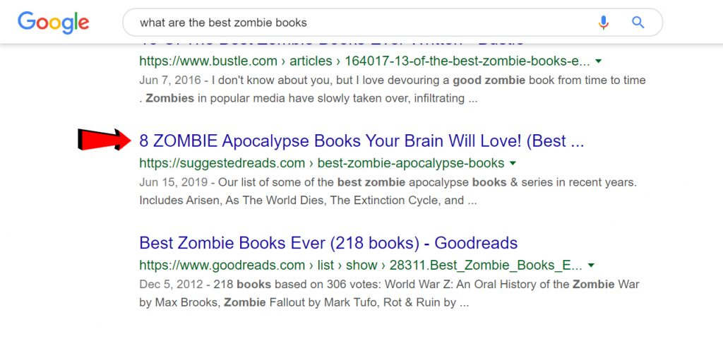 Best Zombie Books Picture 2