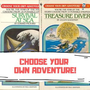 Best Choose Your Own Adventure Books Edward Packard RA Montgomery 80s books