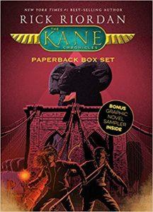 Best books like Harry Potter Kane Chronicles