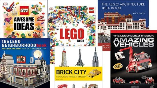 Best Books on LEGO Building for Adults THUMBNAIL