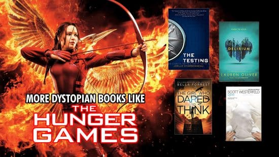 Books Like The Hunger Games Best Dystopian Novels Thumbnail