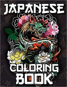 Japanese Coloring Book